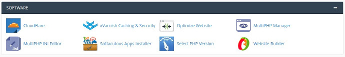 cpanel2 software