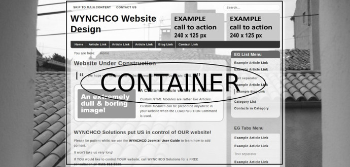 example container