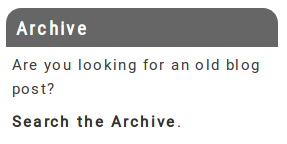 module archive custom front end