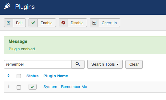 plugin system remember me