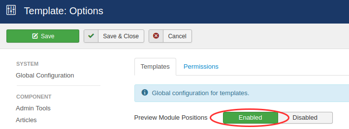 templates preview module positions