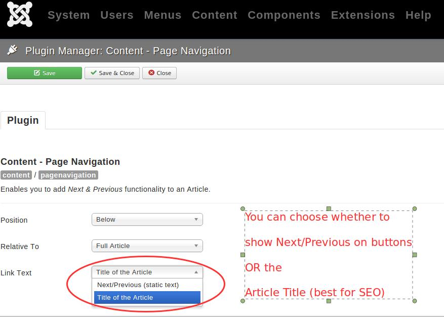 Page navigation can be search engine friendly